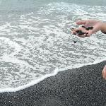 Black sand beautiful!!!