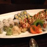 fabulous sushi platter