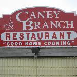 Caney Branch Sign