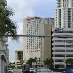 View of hotel from Dadeland Mall