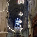 Basilica of the Sacred Heart rose window