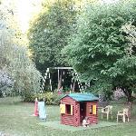 jardin jeux pour enfants
