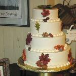 Our Wedding Cake - 4 Tiers of Delicious Carrot Cake