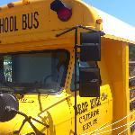 逗子映画祭の近くにあったバス