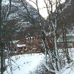 Hotel Kauyeken despues de una nevada