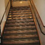 Original copper staircase.