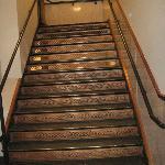 Original copper staircase.