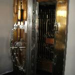 This safe is in the Lobby and used to hold the gold minerals in raw form.