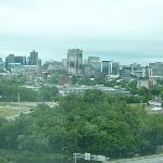 Hotel Hilton e a vista para Ottawa