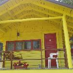 Cabin 1 - awesome porch!!