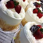 Fresh strawberries and whipped cream...