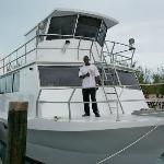 Large dive boat