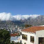 Table Mountain, view from the balcony