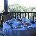 daily made-to-order turkish breakfast on patio