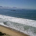 Mossel Bay Beach - open white sand