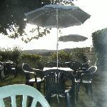 terrasse exterieure pour le petit dej'