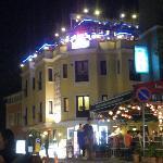 l'hôtel la nuit