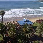 Mossel Bay Diaz Hotel restaurant and white beach on the doorstep