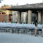 Uscita organizzata tenuta del tempio antico