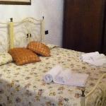 """Questa è la camera """"Serena"""" dove ho alloggiato insieme alla mia compagna: bellissima :-)"""