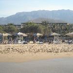 arriere hotel vue plage