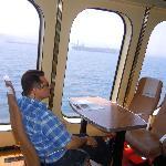 Detalle del Ferry a Ceuta