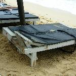 Worst beach beds ever!