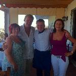 Johnny, Eilis, Aidan & Karen.
