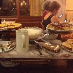 Dessert trolley! :)