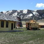 Historic Depot, Burner, an Caboose