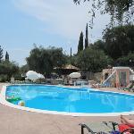 Afroditi Appartments pool Paleokastritsa