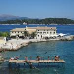 Corfu Town sea view
