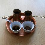 turkish coffee provided for free