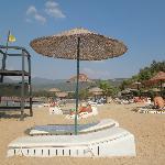 la plage de l hotel