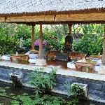 Part of the Spa used for a.o. the tea-ceremony