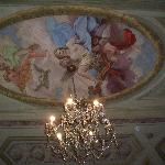 fresco art on ceiling