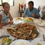 Almoço na casa do Vicente Excelente bom convivio com gente da terra