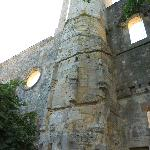le rovine dell'abbazia