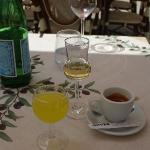 There's always room for locally made grappa and limoncello