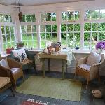 Conservatory, lovely for a cuppa tea :)