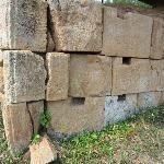 Costesti-Cetatuie : base d'une tour