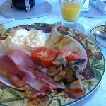 Den väldigt goda frukosten