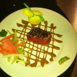Wasabi Seared Tuna Appetizer