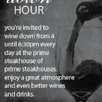 Join us for Wine Down Hour!