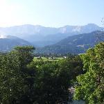 Grand Hotel Sonnenbichl : vue depuis la chambre