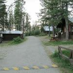 Pathway to some other cabins