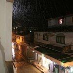Vista desde el balcon a Rua da prainha