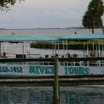 Space Coast River Tour - Docked and waiting for you