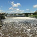 Series of bridges, locks, dams and the Falls