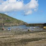 Port Isaac at low tide